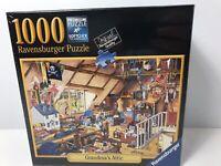 Ravensburger Grandma's Attic 80501 1000 Piece Jigsaw Puzzle BRAND NEW SEALED