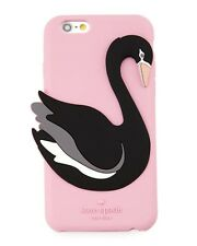 NWT Kate Spade New York Silicone Swan iPhone 6/6s Case Pink/Multi iPhone 6 & 6s