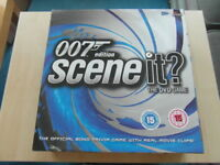 Scene It? DVD Game Board Game, 007, James Bond Edition VGC