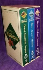 AMERICA'S WILDERNESS: 3 VHS Tapes Reader's Digest Box Set VG 2 SEALED