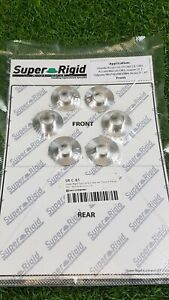 Super Rigid Subframe Collar Kit SR-C-81Front 6 Pieces Honda Accord CL9