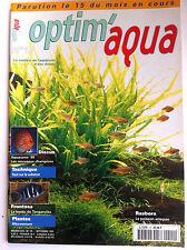 Optim'Aqua Magazine n°15 - Tout sur les Substrat/ Plantes Microsorum