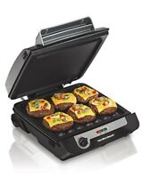 Hamilton Beach 3-in-1 Indoor Grill and Electric Griddle Combo and Bacon Cooker,