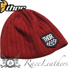 THOR Chex MX Motocross Casual Cappello Beanie Ruby Heather