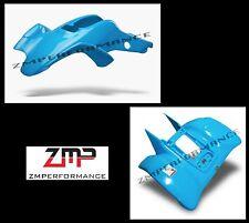 NEW HONDA TRX 400EX 99 - 07 ELECTRIC BLUE RACE FRONT AND REAR FENDER SET PLASTIC