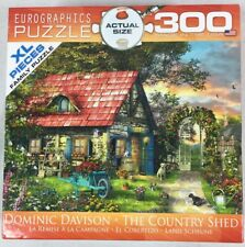 Eurographics ~ The Country Shed - 300 XL Pieces Puzzle - Dominic Davison