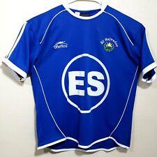 El Salvador Men's Soccer Jersey USA Proud Shirt Jersey size L