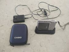 Casio Exilim S500, case, spare battery, charger, SD card & lens cloth
