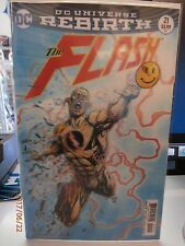 THE FLASH #21 Lenticular 3D Variant Cover DC Comics Rebirth The Button 2017 VF+