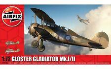 Airfix Gloster Gladiator Mk.I/Mk.II 1:72 Scale Plastic Model Plane Kit A02052A