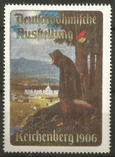 Czech Republic/Liberec (Reichenberg) 1906 German Bohemian Exhibition stamp/label