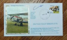 AUSTRALIA FDC COVER 1976 *COLORANO* VINTAGE PLANE SECTION, TIGER MOTH CACHET