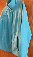 Columbia Women's (L) Zip Down Fleece Jacket