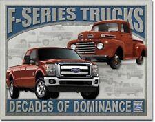 FORD - F-Series Trucks Metal Tin Sign Wall Art