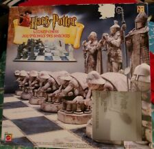 Harry Potter Wizard Chess Board Game Mattel 43533 Complete 2002
