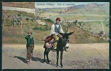 Palermo Costumi Siciliani cartolina QQ0814