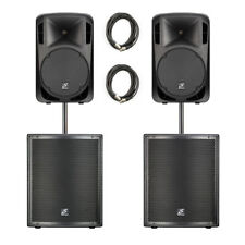 Studiomaster Drive PA Package 1620W RMS Sound System DJ Band
