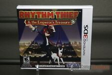 Rhythm Thief & the Emperor's Treasure (Nintendo 3DS, 2012) Y-FOLD SEALED! RARE!