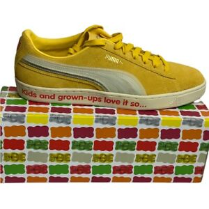 Puma Suede Triplex Haribo Mimosa -Whisper White Sneaker Shoes Sz10.5 Mens New NW