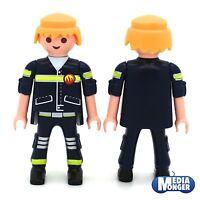 playmobil® Feuerwehr Figur: Feuerwehrmann | Firefighter | blond | Rettung