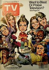 TV Guide 1978 Saturday Night Live Newman Radner Belushi Murray Akroyd Morris SNL
