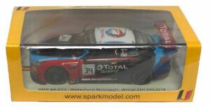 Spark BMW M6 GT3 Walkenhorst Motorsport Winner 24H Spa 2018 - 1/43 Scale