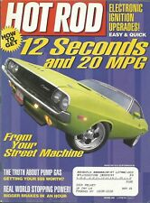 MARCH 2001 HOT ROD MAGAZINE DODGE CHALLENGER HOW TO ELECTRONIC IGNITION PUMP GAS