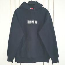 Supreme Black Bandana Box Logo Hoodie (Size - M, Read Desc)
