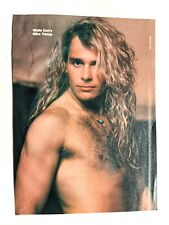 White Lion / Mike Tramp / Sebastian Bach / Magazine Full Page Pinup Clipping 1