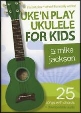 Uke'n Play Ukulele for Kids Chord Songbook with Audio Learn How To Play