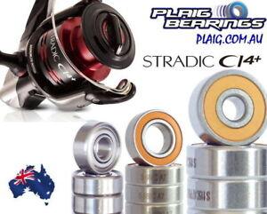Shimano Stradic Bearing Kits Upgrade & Tune - Stainless Steel and Ceramic CI4+