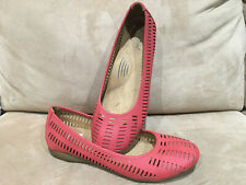 Natural Soul Olive by Naturalizer Flats Shoes - Coral Man-made Materials - Sz 9M