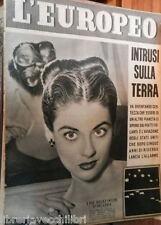 L EUROPEO 26 aprile 1952 Margaret Sherdan Ebrei Italiani Luigi Scarabello Gide