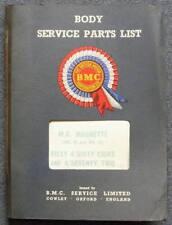 BMC Mg & Riley Cuerpo Ilus lista De Repuestos 1967 akd3546