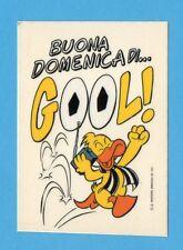 JUVE NELLA LEGGENDA-Ed.MASTER 91-Figurina/ADESIVO n.63-BUONA DOMENICA DI GOL-NEW