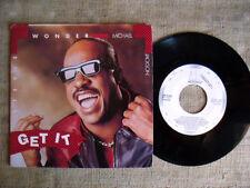 Stevie Wonder and Michael Jakson - get it   45 ORIGINALE
