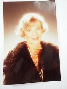 "Patrice Wymore (1926-2014) Femme De Errol Flynn Film Star Couleur Photo 4 "" x 6"