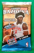 2004-05 Topps Bazooka NBA Basketball Trading Cards Sealed Hobby Pack