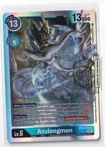 Azulongmon BT6-029 Sr Digimon Card Game