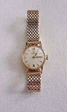 Omega - Solid Gold - Case is 18K Band is 14K - Ladies Watch