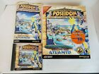 Poseidon Pc Computer Big Box Video Game Official Zues Expansion Complete Tested