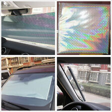 Roll Up Retractable Car Front Rear Windshield Sun Shade Cover Curtain For Ford