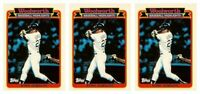 (3) 1989 Topps Woolworth Baseball Highlights #24 Kirk Gibson Lot Dodgers