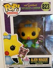 FUNKO POP ANIMATION SIMPSONS TREE HOUSE OF HORROR  Alien Maggie #823 Classic