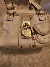 Used leather juicy couture handbags