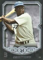 2017 Topps Museum Collection Baseball #66 Jackie Robinson Brooklyn Dodgers