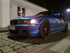 BMW 3 e46 CSL style front lip and rear diffuse for msport mtech bumper + Spoiler