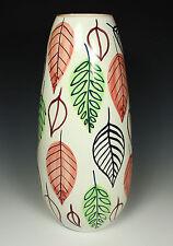 "FAB! Mid Century SIGNED FANCIULLACCI Bitossi Ceramic VASE~Montelupo Italy~12.25"""