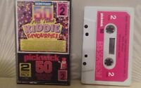50 all time kiddie favourites cassette tape RARE