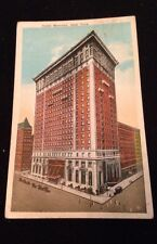 New York City~Hotel Belmont~Park Avenue & Forty-Second Street~1924 Postcard